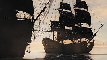 Naval Battle Pirates + Breakdown