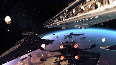 STAR WARS space battle - VFX /CGI
