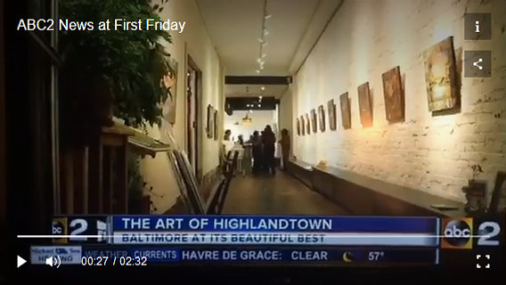 ABC2 News at First Friday
