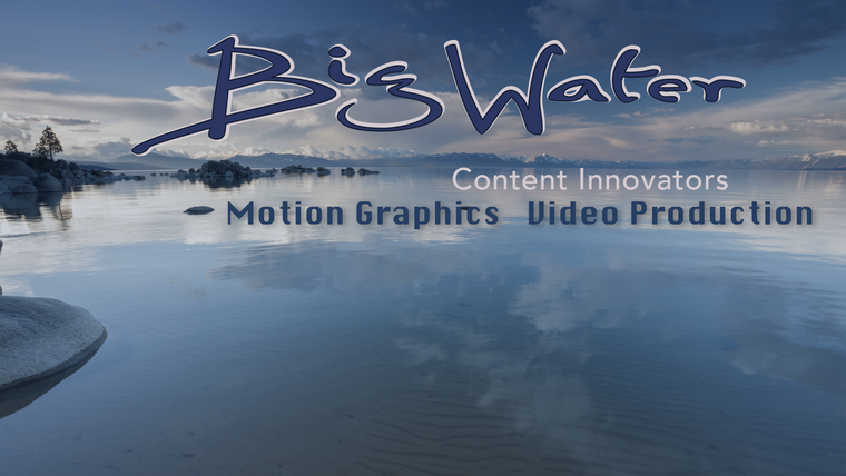 Big Water - Content Innovators