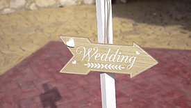 Wedding & christening trailer