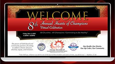 8th Annual Hearts of Champions Virtual Celebration