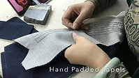 Hand Padded Lapels