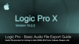 Logic Pro - Basic Multitrack Export Guide