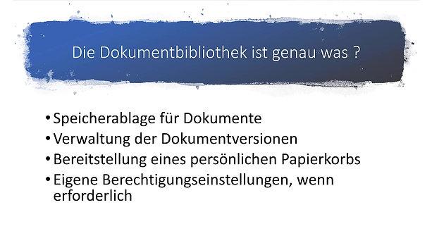 SharePoint - Hinzufügen einer Dokumentbibliothek