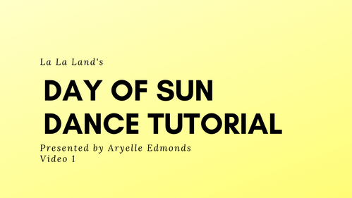 Day of Sun Tutorial - Front 8 Counts