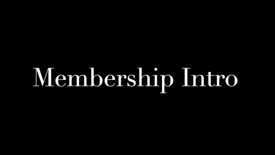 Membership Intro 2020