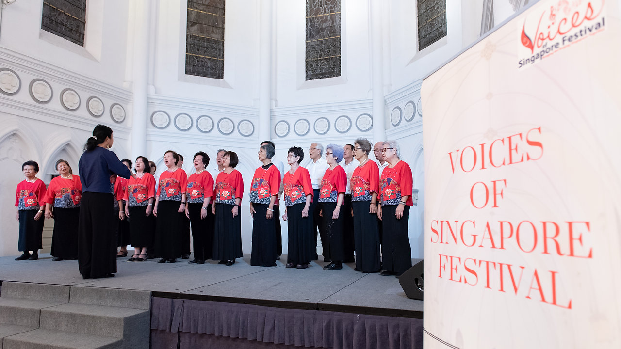 Singapore's largest non-competitive singing festival
