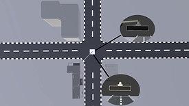 (주)Dnet 디넷 교차로 레이더센서