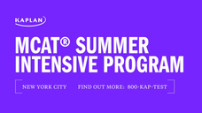 MCAT Summer Intensive Program