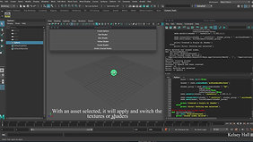 Prototype Shader Switcher Tool Reel