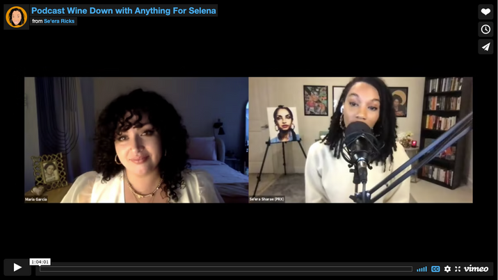 Podcast Wine Down with Anything For Selena