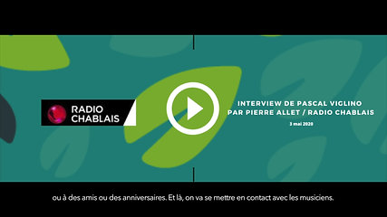 Radio Chablais | Interview (sous-titré) | 03.05.2020