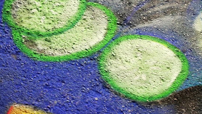 Chalk Art Installation for Michelob Ultra Seltzer Launch