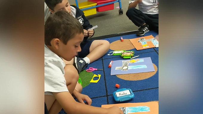 Kindergarten Tour with Miss Martinez