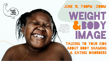 Tough Talk Webinar | Weight & Body Image