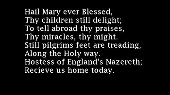 Catholic Hymnal - Hail Mary Ever Blessed