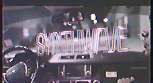 Synthwave VHS