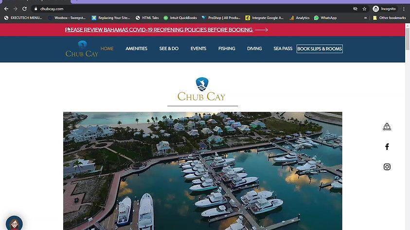 Chub Cay - Book Online
