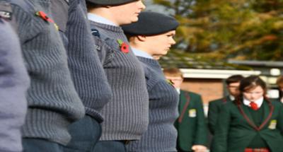 St Brigid's School Remembrance Parade
