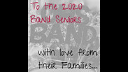2020 OHS Band Seniors Video