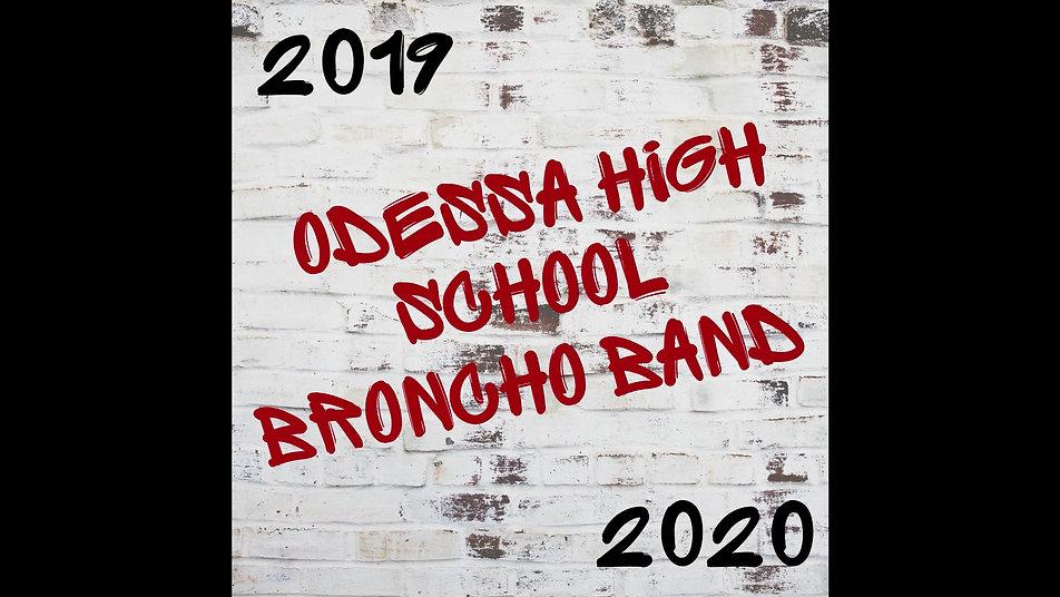 2020 Broncho Band Video