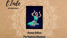 Récital Odissi, Mahina Khanum