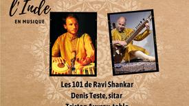 Hommage à Ravi Shankar, Denis Teste