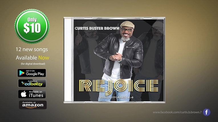 Curtis Buster Brown CD Promo