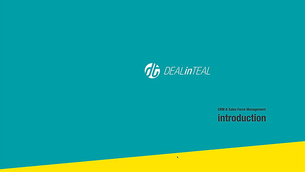 DEALinTEAL Introduction