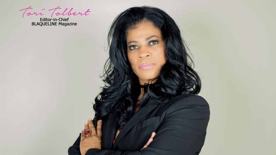 BLAQUELINE Magazine | Tori Tolbert