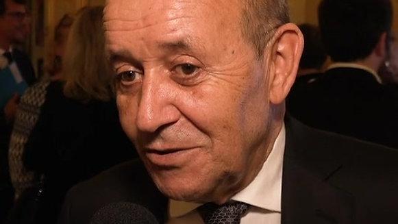 JEAN-YVES LE DRIAN, Ministre des Affaires étrangères
