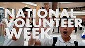 YNA National Volunteer Week