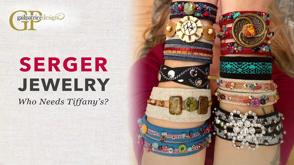 Serger Jewelry ~ Who Needs Tiffany's?