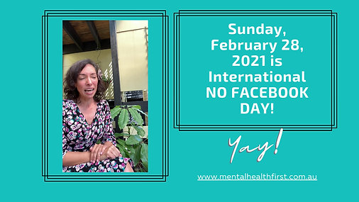 International No FB Day!