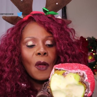 Rock Candy Apple ASMR Mouth Sound CLICKS TSK CRISP CRUNCH Inaudible Whisper