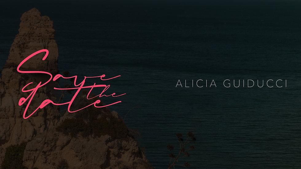 ALICIA - SAVE THE DATE