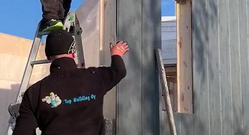 Finnhaus Arctica byggkonstruktion
