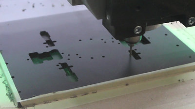 Test fixture milling using the DATRON M8Cube