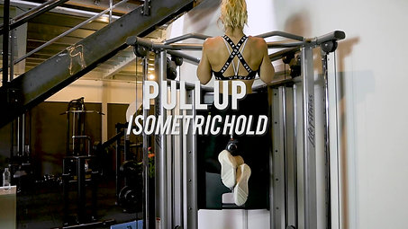 Pull up - Isometric hold