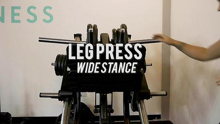 Leg Press - Wide Stance