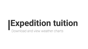 FREE - Expedition downloading weather charts