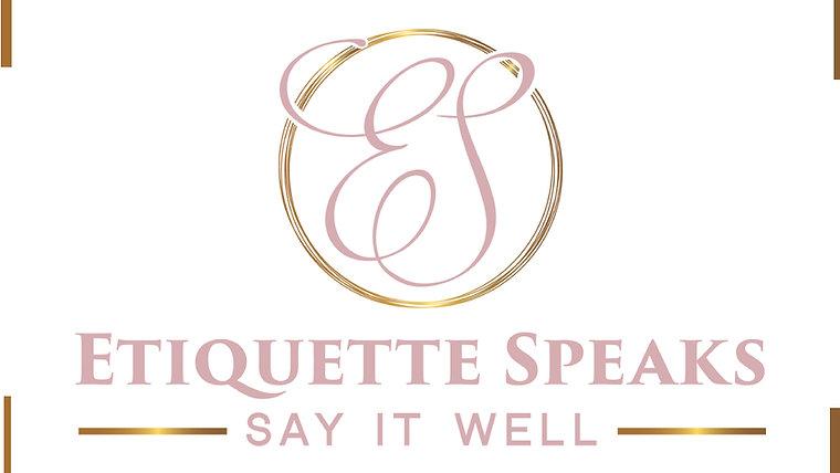 Etiquette Speaks Tips