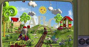 children book division logo intro