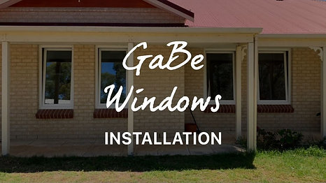 GaBe Double Glazing - Installation
