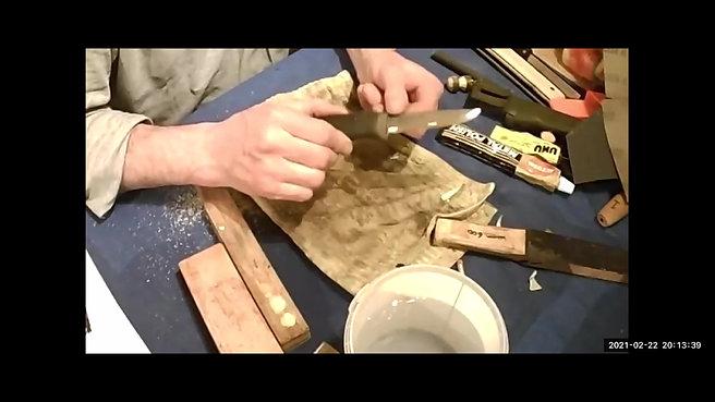 Woodland Tool Maintenance & Whittling - Chris Knight