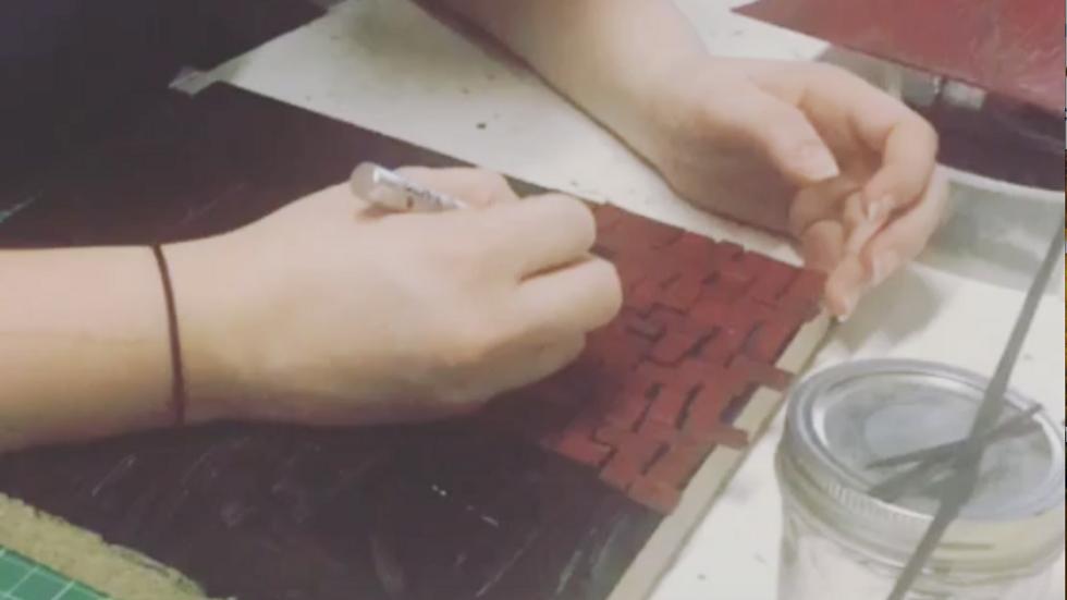 Brick by Brick (Making a Miniature)