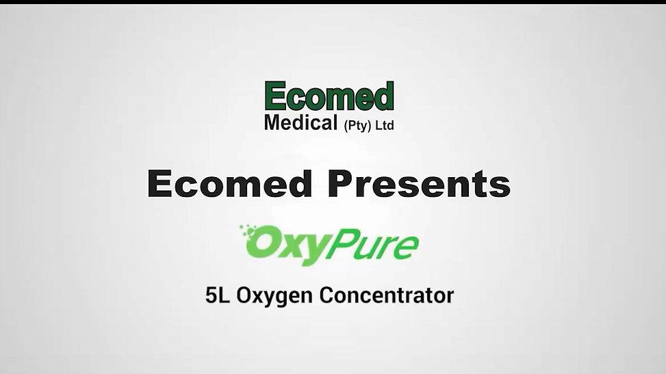 OxyPure 5 litre Oxygen Concentrator