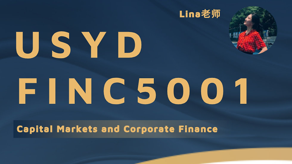 USYD FINC5001