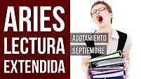Aries Lectura Extendida Septiembre 2018